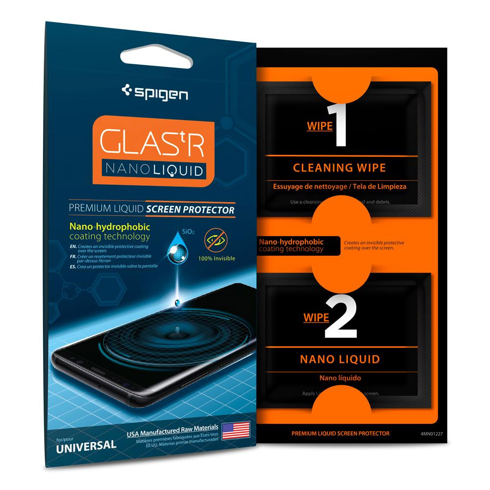 wholesale cellphone accessories SPIGEN GLAS.TR NANO LIQUID SCREEN PROTECTION
