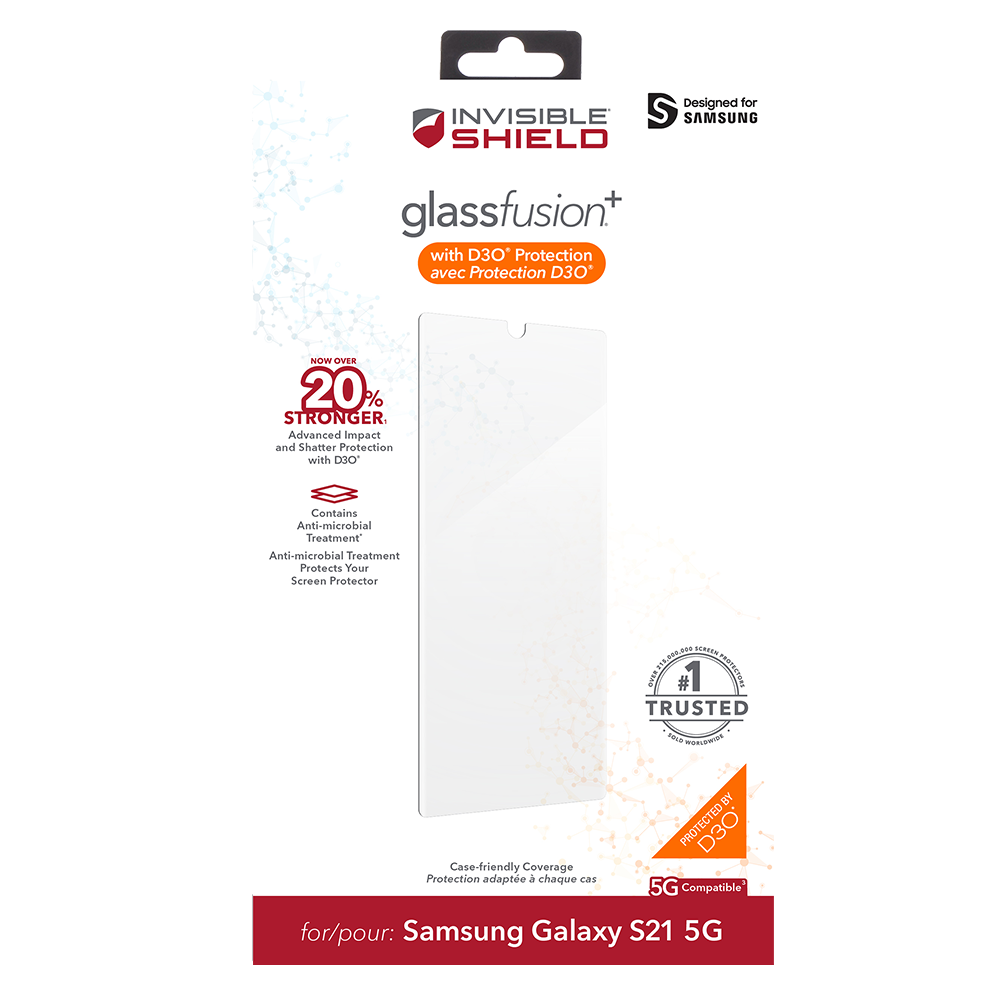 wholesale cellphone accessories ZAGG INVISIBLESHIELD GLASS FUSION SCREEN PROTECTORS