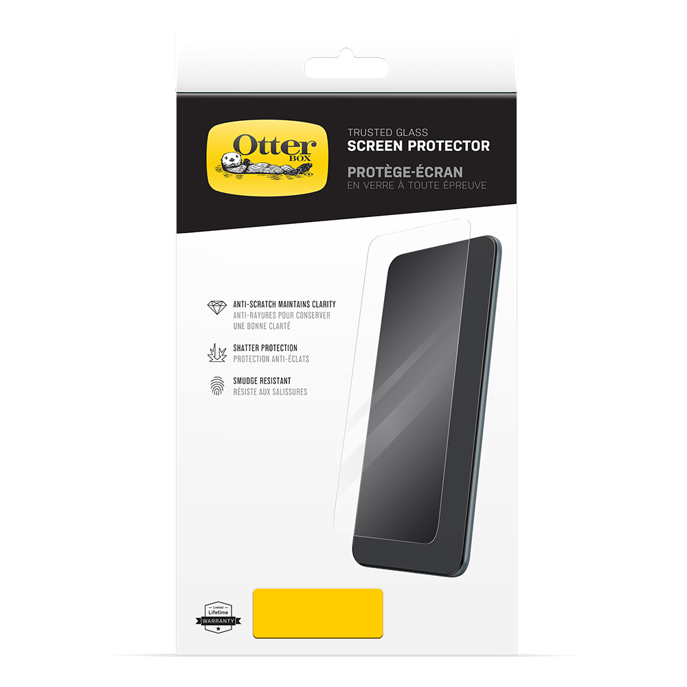 wholesale cellphone accessories OTTERBOX TRUSTED GLASS SCREEN PROTECTORS